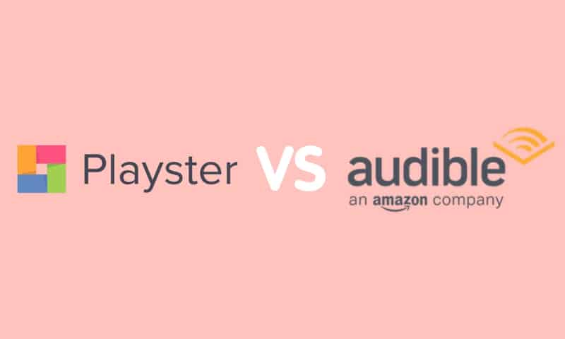 Playster vs Audible
